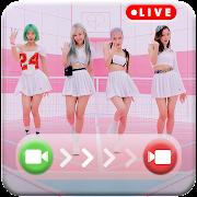 BlackPink Call You - BlackPink Fake Video Call
