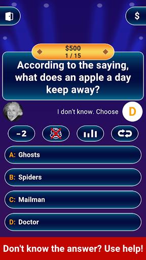 Millionaire 2020 -  Free Trivia Quiz Offline Game 1.5.3.1 screenshots 13