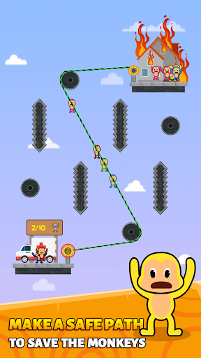 Monkey Rescue Puzzle 1.0.2 screenshots 6
