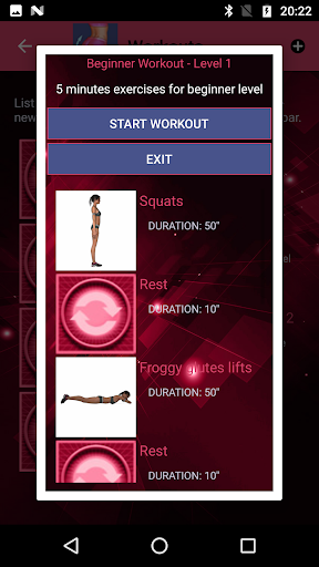 Legs and buttocks workout for women modavailable screenshots 1
