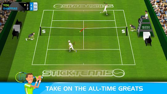 Stick Tennis MOD APK 2.9.3 (Unlocked Rackets) 2