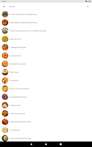 Recipes for Dinner 5.07 Screenshots 12