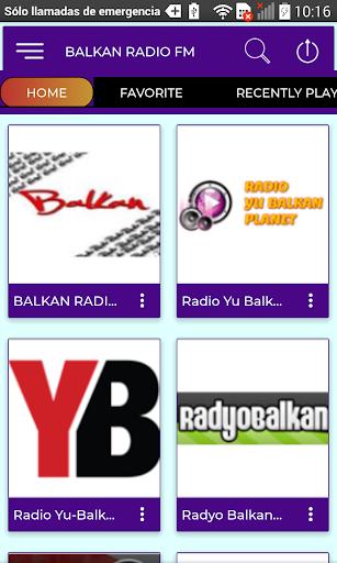 balkan radio fm screenshot 3