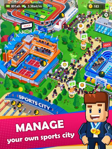 Sports City Tycoon - Idle Sports Games Simulator  screenshots 17
