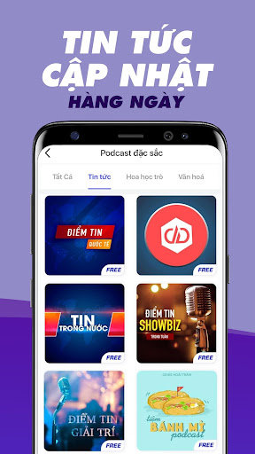 Voiz FM - Su00e1ch nu00f3i, Podcast, NghePhim 8.0.0 screenshots 2