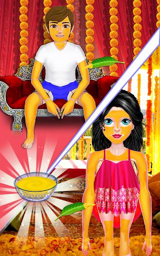 Indian Bride Stylist Dressup & Beauty Makeup Game screenshots 13