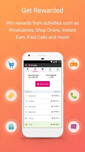 WowApp - Earn. Share. Do Good 78.0.1 Screenshots 2