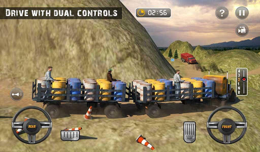 USA Truck Driving School: Off-road Transport Games  screenshots 9