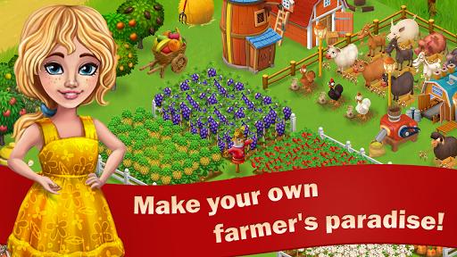 Sunny Farm : le Jeu d'Aventure et de Ferme APK MOD – Monnaie Illimitées (Astuce) screenshots hack proof 1