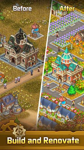 Steam Town: Farm & Battle, addictive RPG game  screenshots 1