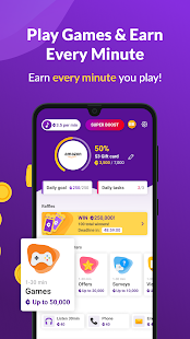Earn Cash Reward: Make Money Playing Games & Music Screenshot