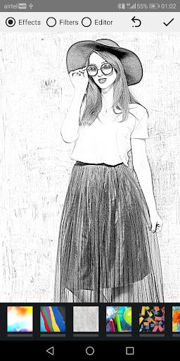 Pencil Photo Sketch-Sketching Drawing Photo Editor  Screenshots 7