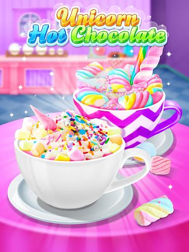 Unicorn Hot Chocolate - Dream Food Maker 1.3 screenshots 8