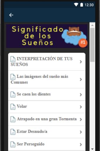 Significado de los Sueu00f1os Gratis Sin Internet. screenshots 2