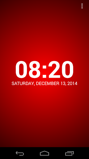 speaking clock: tellmethetime screenshot 1