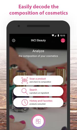 INCI Beauty - Analysis of cosmetic products 1.23.3 Screenshots 1