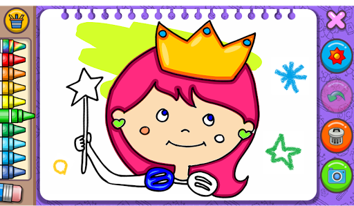 Princess Coloring Book & Games 1.44 Screenshots 17