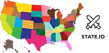 Jouez à State.io ⚔️ - Jeu de conquête mondiale stratégique sur PC, le tour est joué, pas à pas!
