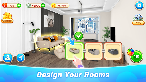 Dream Home - House Design & Makeover 1.0.4 screenshots 2
