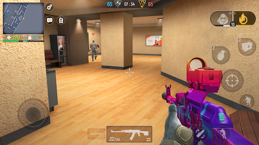 Modern Ops - Jeux de Guerre (Online Shooter FPS) APK MOD screenshots 1