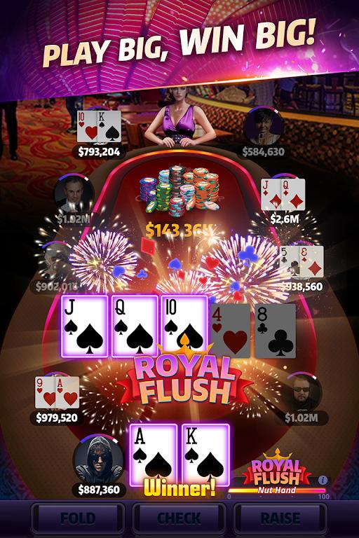 Mega Hit Poker: Texas Holdem  poster 1
