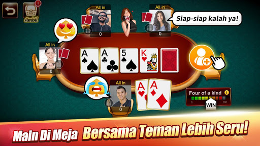 Domino : LUXY Domino & Poker - Gaple QiuQiu Remi 5.2.1.0 screenshots 3