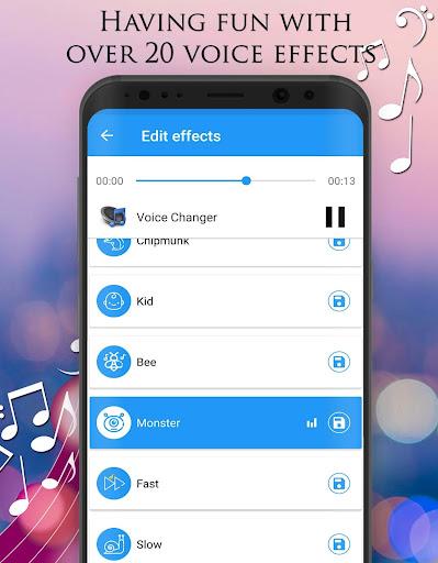 Voice Changer - Audio Effects 1.7.4 Screenshots 11