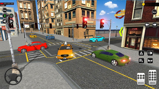 City Taxi Driving simulator: PVP Cab Games 2020 apktram screenshots 3