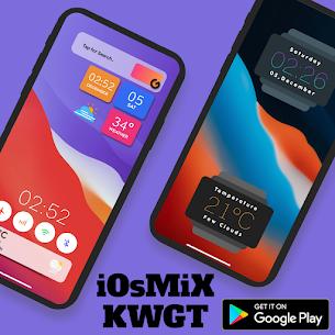 iOsMiX KWGT (MOD APK, Paid) v15.0 3