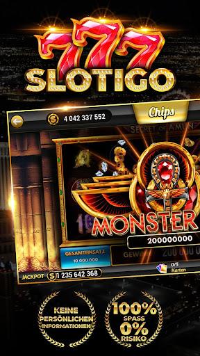 Slotigo - Online-Casino, Spielautomaten & Jackpots modavailable screenshots 1