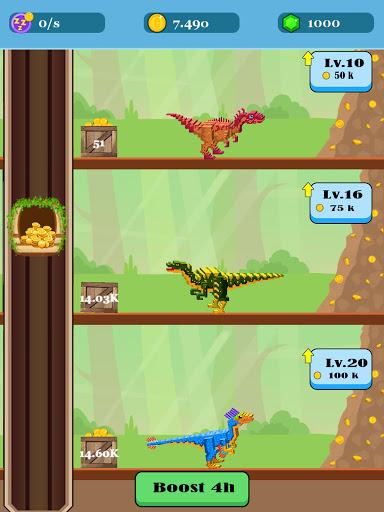 Jurassic Pixel Craft: dino age  screenshots 10