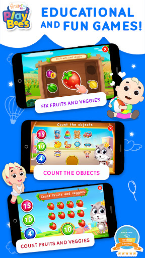 FirstCry PlayBees Play & Learn Kids and Baby Games 2.2 screenshots 5