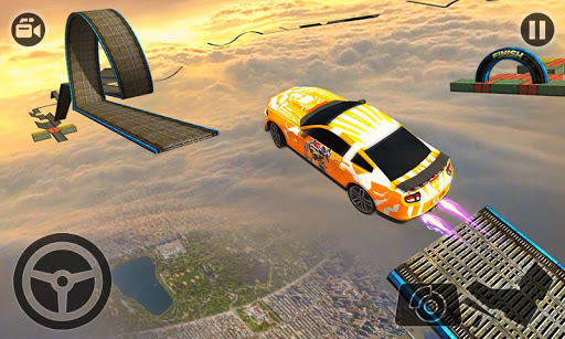 Impossible Stunt Car Tracks 3D modavailable screenshots 5