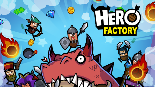 Hero Factory - Idle Factory Manager Tycoon 2.6.5 screenshots 1