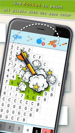 Pixyfy: pixel art, color by number, coloring games  screenshots 14