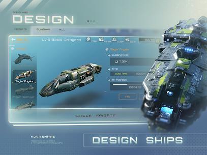 Nova Empire: Space Commander Battles in Galaxy War 5