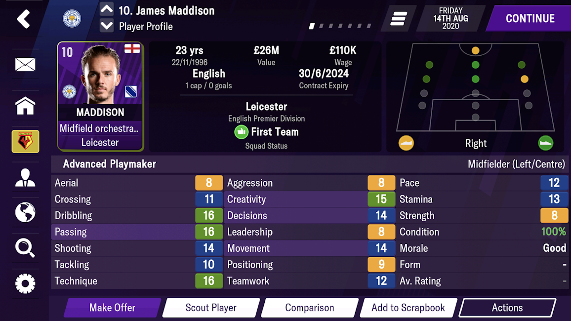 Football Manager 2021 Mobile APK 12.3.1 1