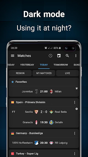 Footba11 - Soccer Live Scores  Screenshots 2