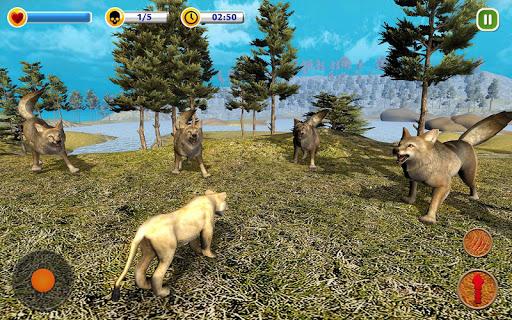 The Lion Simulator - Animal Family Simulator Game 1.3 screenshots 9