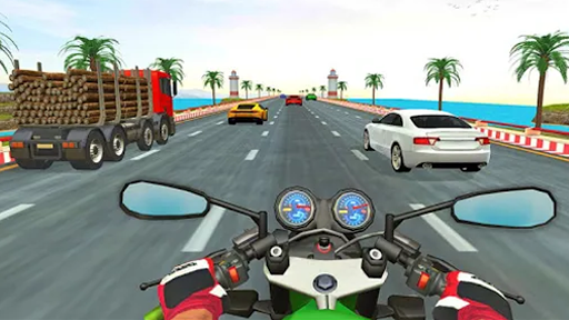 City Rider - Highway Traffic Race Apkfinish screenshots 5