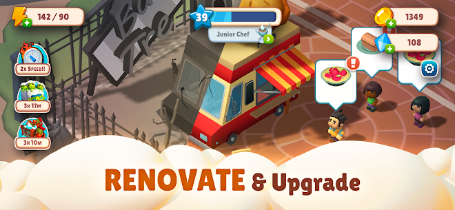 Adventure Chef: Merge Explorer Mod Apk 2.18 (Unlimited Money) 4
