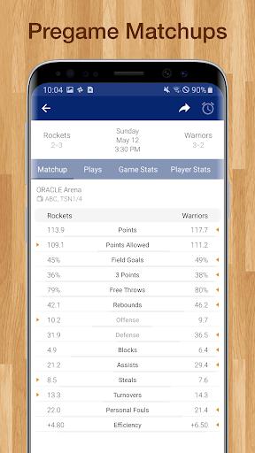 Basketball NBA Live Scores, Stats, & Schedules 9.2.1 Screenshots 6