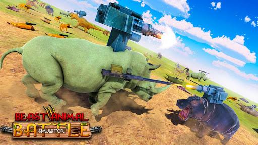 Beast Animals Kingdom Battle: Dinosaur Games 2.6 screenshots 2