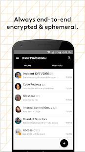 Wickr Pro 5.85.4 Screenshots 3