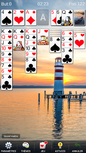 Solitaire - Klondike Solitaire Jeux De Cartes APK MOD – Pièces Illimitées (Astuce) screenshots hack proof 2