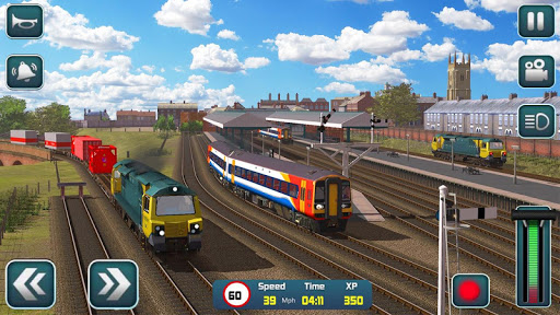 Euro Train Driver Sim 2020: 3D Train Station Games apkdebit screenshots 6