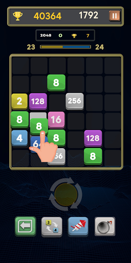 Merge Number Puzzle: Merge! Block Puzzle Game apk 0.4 screenshots 1