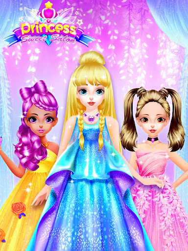 Princess Dress up Games - Princess Fashion Salon 1.30 Screenshots 1