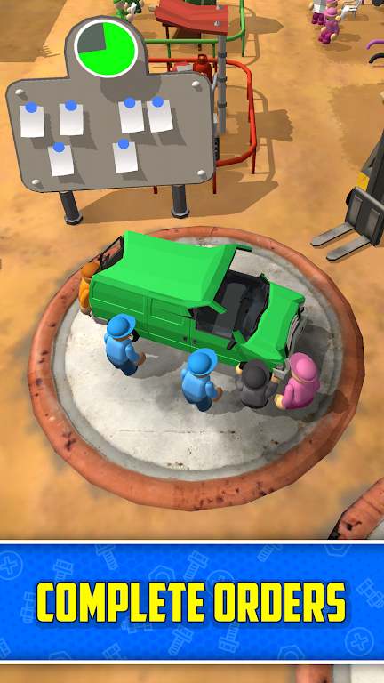 Scrapyard Tycoon Idle Game poster 4