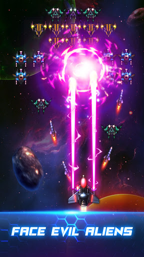 Space War: Spaceship Shooter modavailable screenshots 1